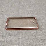 Чехол TPU bamper Xiaomi Redmi 3 Pro pink, фото 4
