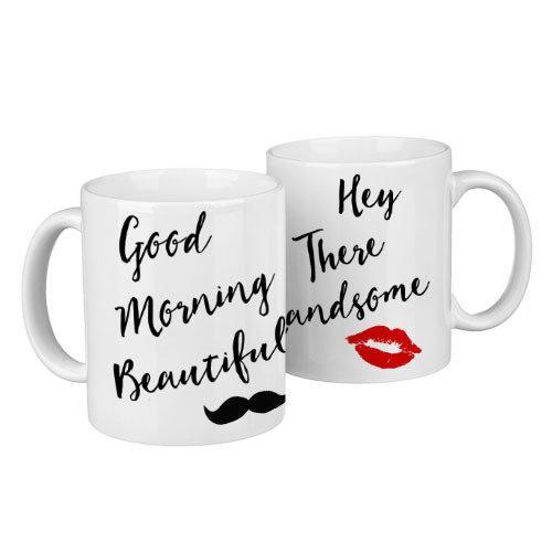 Парні чашки Good morning 330 мл (KR2_18A005)