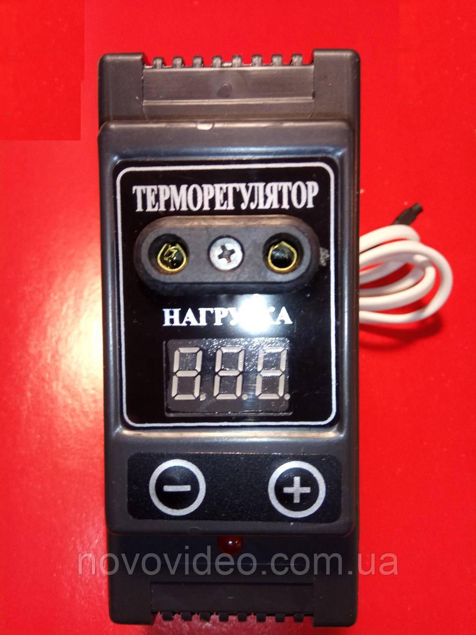 Терморегулятор Квочка  для инкубатора  с цифровыми настройками (+5  +50 °C)