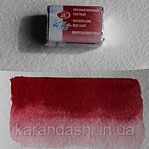 Акварель Белые Ночи Краплак красный светлый (313) кювета 2,5мл, фото 3