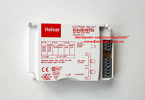 Балласт электронный HELVAR EL 2x32/42TCs-демонтаж (Финляндия)