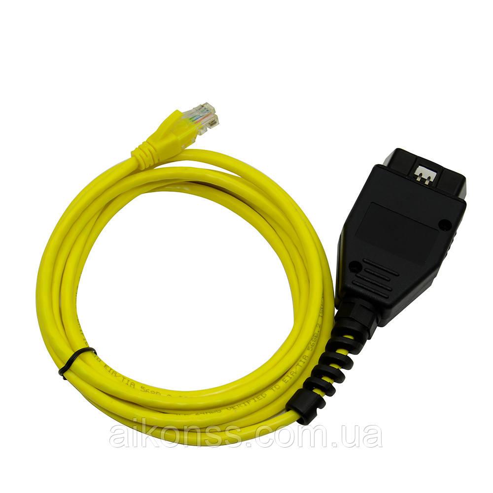 Для BMW ENET (Ethernet к OBD)  адаптер E-SYS ICOM кодирования для BMW серии F ENET кабель Интерфейс для BMW