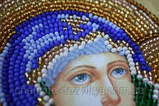 """Набор для вышивания бисером икона """"Богородица Неувядаемый цвет"""", фото 2"""