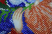 """Набор для вышивания бисером икона """"Богородица Неувядаемый цвет"""", фото 3"""