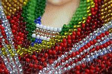 """Набор для вышивания бисером икона """"Богородица Семистрельная"""", фото 3"""