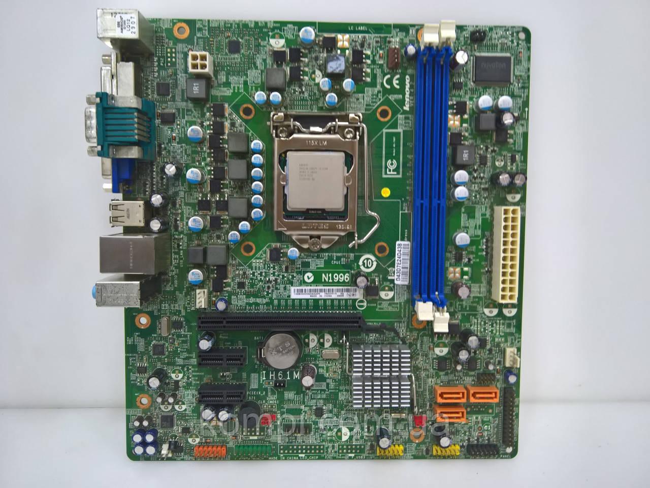 Материнская плата LENOVO IH61M Intel H61  S1155 DDR3