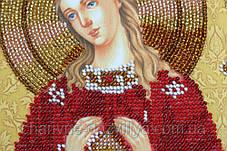 """Набор для вышивания бисером икона """"Богоматерь Помощница в родах"""", фото 2"""