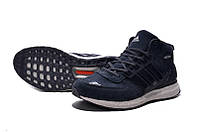 Зимние кроссовки Adidas Ultra Boost (замша) ( реплика А+++)