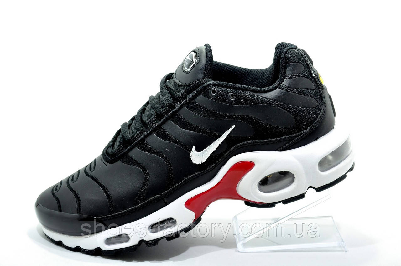 Кроссовки унисекс в стиле Nike Air Max Plus TN, White\Black