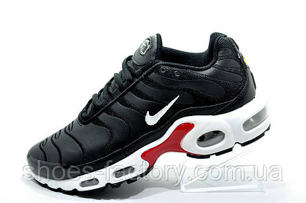 Кроссовки унисекс в стиле Nike Air Max Plus TN, White\Black, фото 2