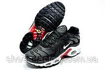 Кроссовки унисекс в стиле Nike Air Max Plus TN, White\Black, фото 3