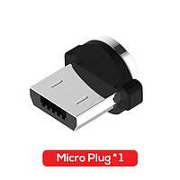 Коннектор для магнитного кабеля Topk Round microUSB