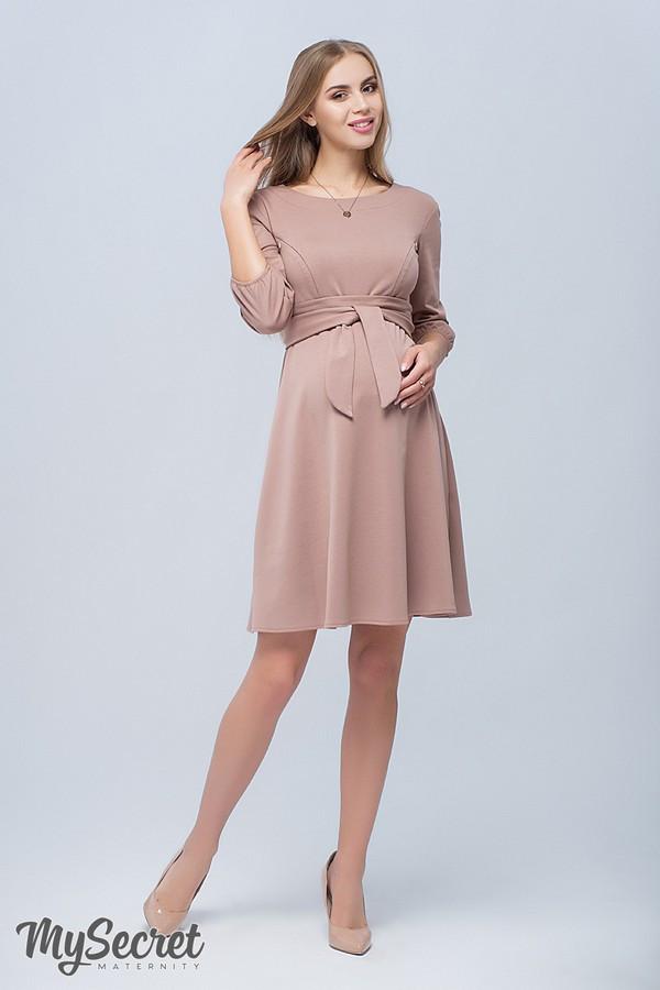 Ультрамодное платье-туника для беременных и кормящих прямого силуэта размеры S, M, L, XL, ALL