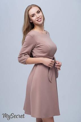 Ультрамодное платье-туника для беременных и кормящих прямого силуэта размеры S, M, L, XL, ALL, фото 2