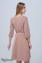 Ультрамодное платье-туника для беременных и кормящих прямого силуэта размеры S, M, L, XL, ALL, фото 3