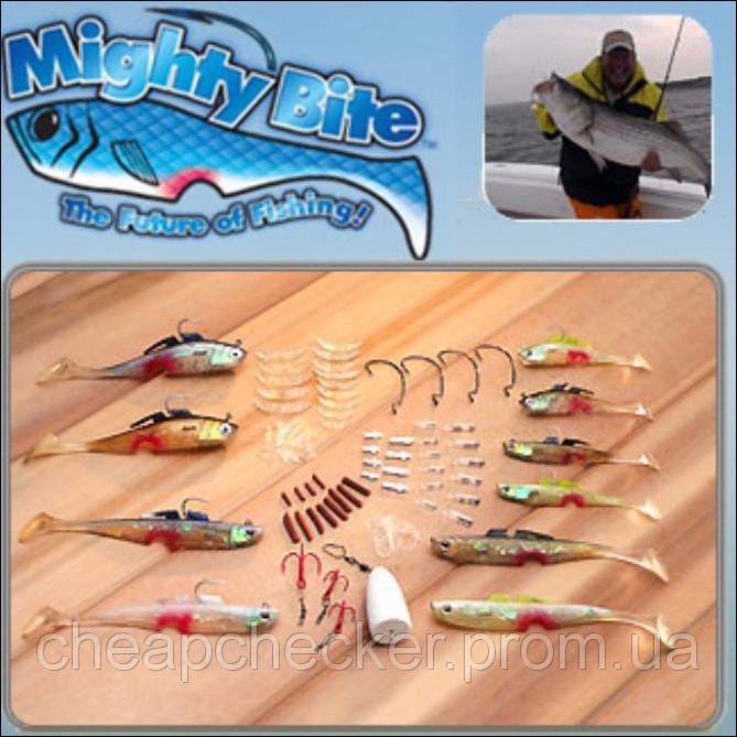 Набор Рыболовных Снастей Mighty Bite Майти Байт