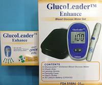 Прибор для Измерения Сахара Глюкометр GlucoLeader