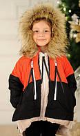 Куртка детская теплая водостойкая  ро4042