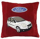 Автомобильная Подушка декоративная с вышивкой силуэта вашего авто, фото 10