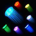 Насадка для Душа с LED Подсветкой Зеленый Синий Красный Цвет UFT Led Shower, фото 5