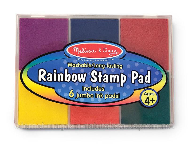 Разноцветные чернила для штампов ТМ Melissa&Doug