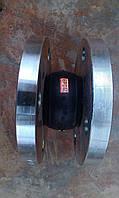 Вибровставка  (гибкая вставка) фланцевая Ду65, фото 1