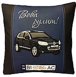 Подушка сувенирная с Вашим авто в машину, фото 8