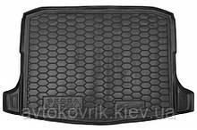 Полиуретановый коврик в багажник Skoda Karoq 2018- (AVTO-GUMM)