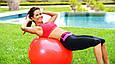 Мяч для Фитнеса Gymnastic Ball 65 см Фитбол, фото 6