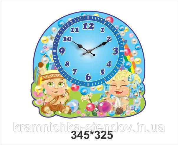 """Оригінальні настінні годинники """"Намистинка"""""""