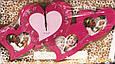Романтические Настенные Часы с Фоторамками в Виде Сердец, фото 4