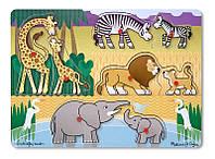 """Пазл """"Угадай африканское животное"""" ТМ Melissa&Doug"""