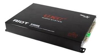 Авто Усилитель UKC AMP 2000 Вт 4 канала