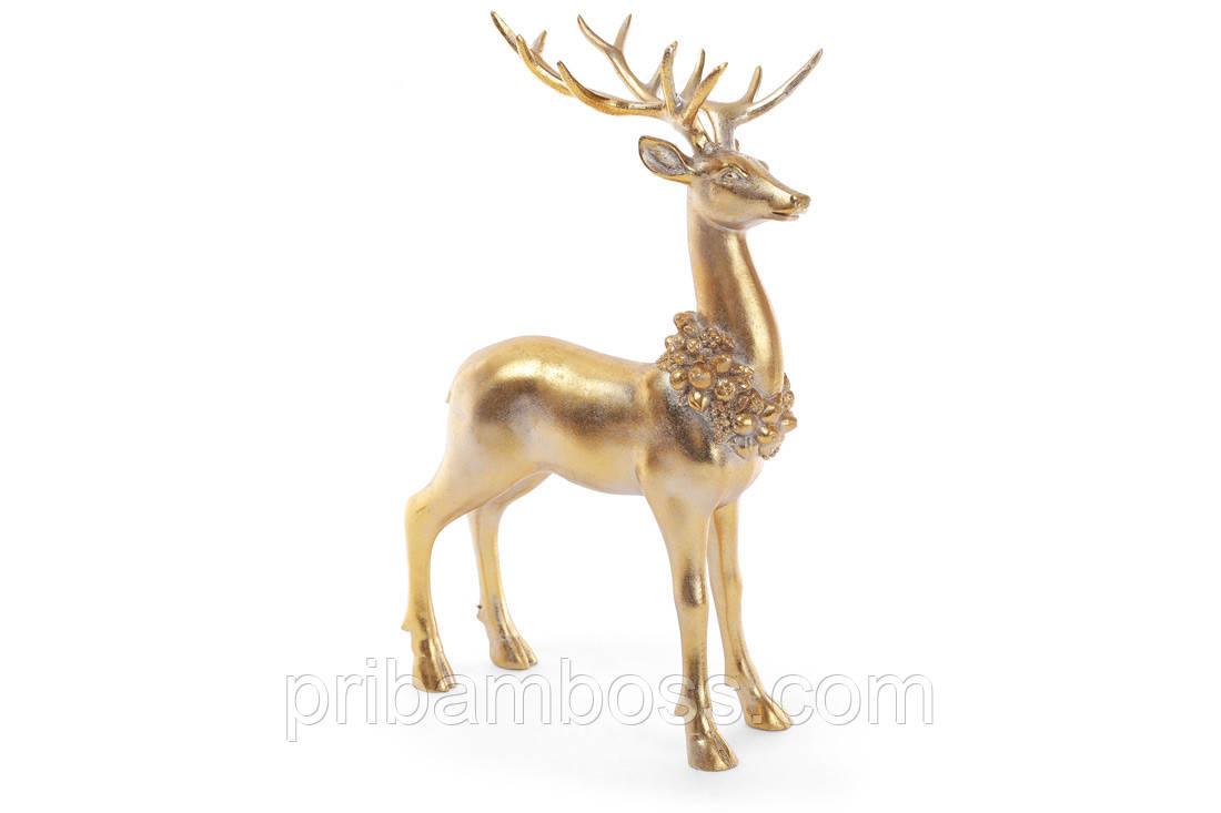 Декоративна статуетка Золотий Олень 38см