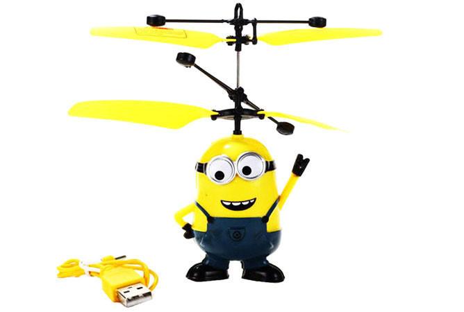Игрушка Вертолет Летающий Миньон