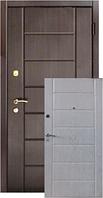 Двери Форт Вип Канзас черно-белый