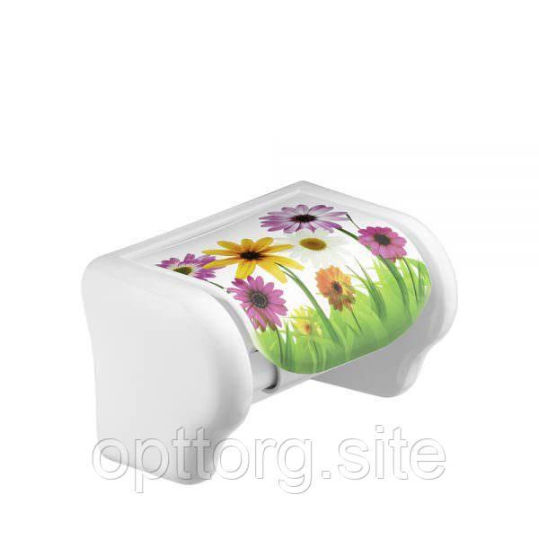 Держатель для туалетной бумаги с рисунком Elif Plastik 386
