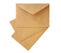 Крафт конверт С6 плотность 70 г/м2