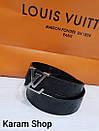 Ремни кожаные люксовая реплика Louis Vuitton, фото 4