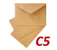 Крафт конверт С5 (А5) 70 г/м2