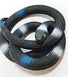 Оригинальный Сувенир Розыгрыш Декоративная Резиновая Змея Прикол для Вечеринки, фото 3