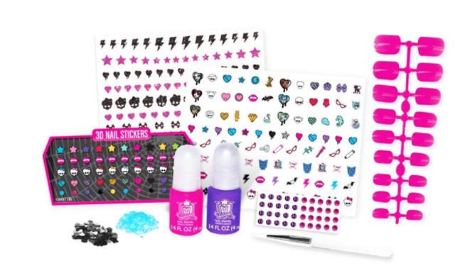 Детский Набор для Дизайна Ногтей Monster High 3D