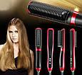 Расческа Выпрямитель Fast Hair Straightener HQT908, фото 9