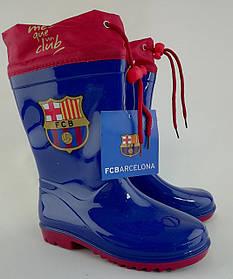 Резиновые сапоги FC Barcelona Размер 30-31 Синий ВА08401(30-31) Польша