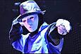 Карнавальная Пластиковая Театральная Маска Безликая Jabbawockeez Лицо без Эмоций Прикол для Вечеринки, фото 8