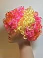 Карнавальный Искусственный Парик Разноцветный Клоун для Вечеринки Маскарад, фото 3