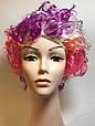 Карнавальный Искусственный Парик Разноцветный Клоун для Вечеринки Маскарад, фото 4