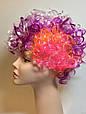Карнавальный Искусственный Парик Разноцветный Клоун для Вечеринки Маскарад, фото 5