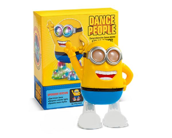 Интерактивная Игрушка Танцующий Миньон Minions Dance People 8115С Посипака из Мультика Гадкий Я