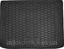 Полиуретановый коврик в багажник Opel Zafira 2017- (7 мест) (AVTO-GUMM)